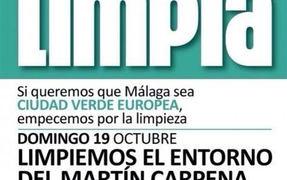 """El Psoe en Málaga iniciará mañana domingo una campaña reivindicativa de limpieza para poner el foco """"en el principal problema medioambiental que tiene la ciudad"""""""
