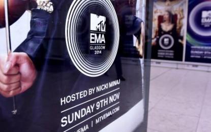 MTV Awards europeos 2014