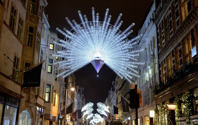 TONIGHT, London's Bond Street takes centre stage to host a spectacular illumination scheme that celebrates the colourful history of the world's most illustrious luxury destination