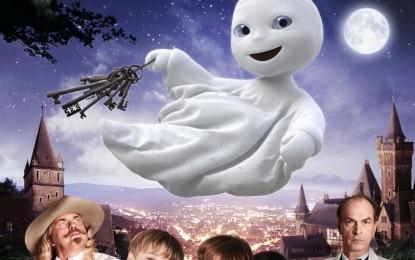"""MALAGA ES DE CINE CARTELERA """"Las aventuras del pequeño fantasma""""  (Das kleine Gespenst)"""