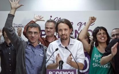 """Pablo Iglesias, tiene previsto visitar Andalucía el próximo mes de enero para animar a la """"mayoría social"""" de la comunidad a participar en la movilización que su partido está organizando para el día 31 de ese mes en Madrid"""