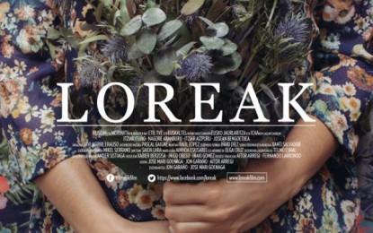 """Cartelera de cine en Málaga """"Loreak (Flores)  (Loreak)"""""""