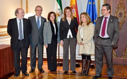 La presidenta de la Junta felicita a profesionales y asociaciones de trasplantes en Andalucía, que duplica la media europea en donaciones
