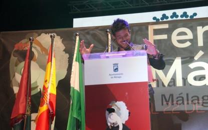 El cantante Pablo Lopez inauguró oficialmente la Feria de Málaga 2015