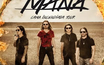 Éste es el segundo sold out en España de la gira 'Cama Incendiada Tour' tras agotar las entradas para el primer concierto en Madrid