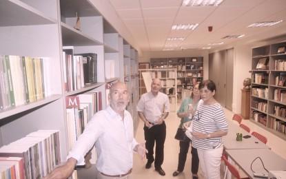 Visita de la Asociación de Investigadores  de los Archivos de Málaga al Centro Sesmero de Alhaurin de la Torre