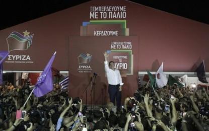 Syriza vuelve a ganar las elecciones en Grecia con un 35,47% de los votos