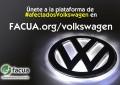 Más de 10.000 usuarios se han unido ya a la plataforma de #afectadosVolkswagen creada por FACUA