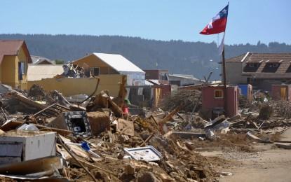 Un balance de cinco muertos hasta el momento en Chile tras un terremoto de 8,4 en la escala Richter
