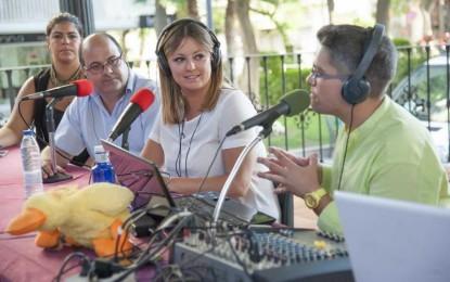El radio maratón solidario organizado en Torremolinos, Málaga, recauda más de 1.000 kilos de alimentos y productos no perecederos en beneficio de los refugiados