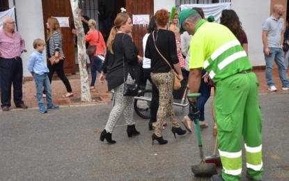 El Ayuntamiento de Fuengirola, Málaga, potenciará el reciclaje durante la Feria del Rosario con la incorporación de nuevos contenedores en el Recinto Ferial