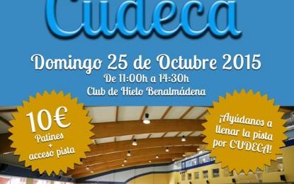 Campaña ¡Patina por CUDECA! en Benalmadena, Málaga