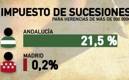Andalucía es la comunidad donde más se paga cuando uno recibe una herencia, por ello desde Change.org crean una campaña pidiendo la derogación del impuesto de sucesiones de la Junta
