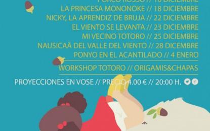 El Cine Albéniz de Málaga dedica un ciclo de siete películas y un taller a Hayao Miyazaki