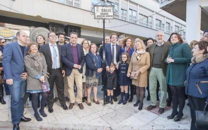 Más de 300 personas acuden a la inauguración de la calle Eduardo Aguilera Romero de Torremolinos