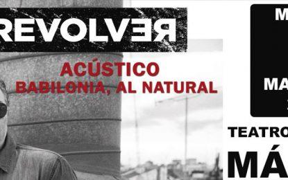 El Teatro Cervantes de Málaga recibe mañana a Revólver