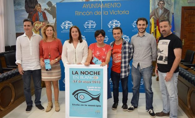 Cerca de una treintena de actividades culturales se dan cita en la Noche en Blanco de Rincón de la Victoria, Málaga