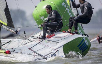 Diego Botín y Lago López Marra ganan la regata de selección olímpica de 49er para Río 2016