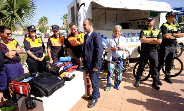 COMIENZA LA CAMPAÑA DE VERANO PARA LA POLICIA LOCAL Y PROTECCIÓN CIVIL