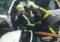 UNA PERSONA FALLECIDA Y CUATRO HERIDAS DE GRAVEDAD EN UN ACCIDENTE EN COLMENAR