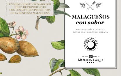 PABLO PINEDA Y ÁNGEL GARÓ, ANFITRIONES DE LA SEGUNDA CENA DE 'MALAGUEÑOS CON SABOR'
