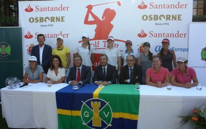Vallromanes se viste de fiesta para recibir al Santander Tour