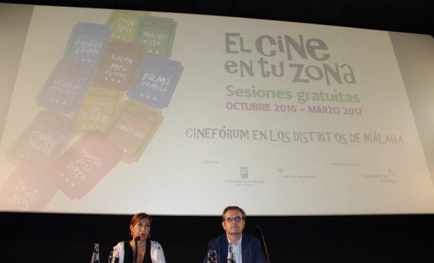 LOS CINEFÓRUMS DE 'EL CINE EN TU ZONA' VUELVEN A TODOS LOS DISTRITOS DE MÁLAGA