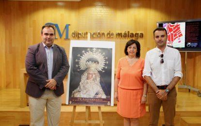 La localidad malagueña de Pizarra cerrará este sábado con una procesión los actos del 75 aniversario de la bendición de la imagen de María Santísima de los Dolores y Misericordia