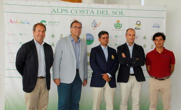 Cerca de 125 golfistas profesionales competirán en el último torneo del circuito Alps Costa del Sol en Alhaurín de la Torre
