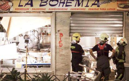 Varias personas heridas en la explosión de Vélez siguen ingresados en dos hospitales de la comarca