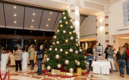 Mercado benéfico de Navidad en el Kempinski Sábado 3 de diciembre de 4-8pm