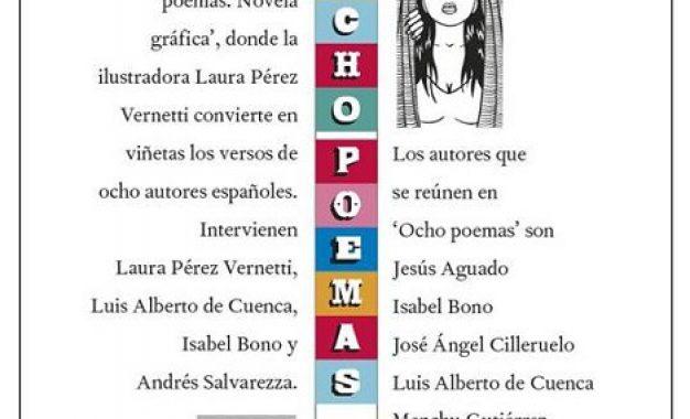 El Centro del 27 de la Diputación de Málaga presenta el volumen 'Ocho poemas. Novela Gráfica' de la dibujante Laura Pérez Vernetti