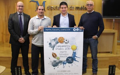 Cerca de 2.000 niños de la provincia participarán en los campamentos de la Diputación de Málaga
