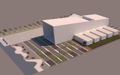 El futuro teatro auditorio de Torre del Mar, en Vélez-Málaga