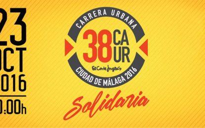 28.400 euros recaudados en la 37 carrera urbana 'Ciudad de Málaga' repartidos entre cuatro entidades sociales
