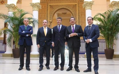 El presidente de la Diputación de Málaga, Elías Bendodo, ha destacado hoy el dinamismo y el empuje de la provincia