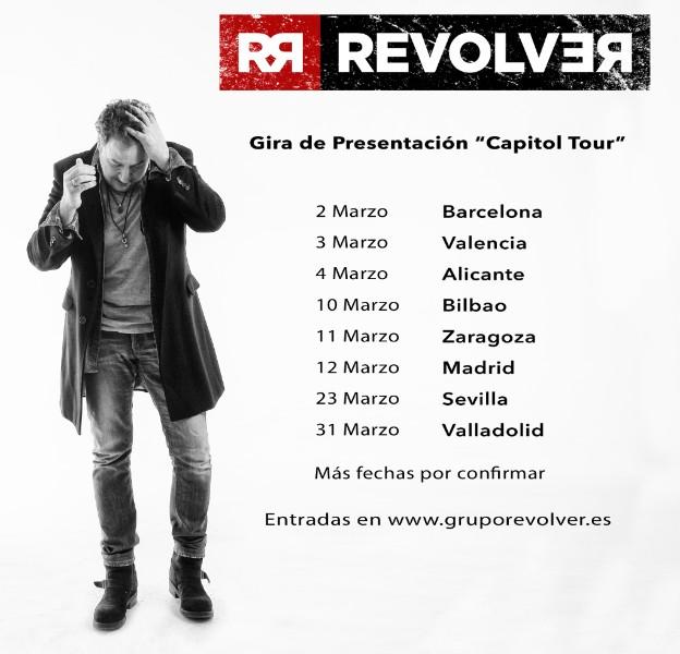 Revólver publicará Capitol en febrero y anuncia primeras fechas de la gira
