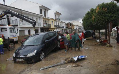 La Junta realiza obras de emergencia por valor de 10,4 millones de euros tras el último temporal en la provincia de Málaga