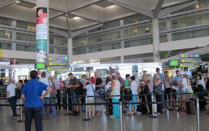 Crece en un 13% la oferta de asientos de avión a la Costa del Sol en el primer semestre de 2017