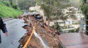 El 112 ha gestionado finalmente 203 incidencias a causa de las lluvias en Málaga