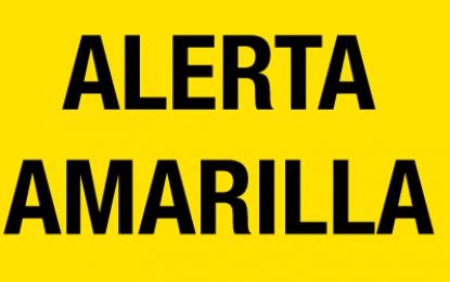Metereología da alerta amarilla para está tarde en Málaga a partir de las 18:00h