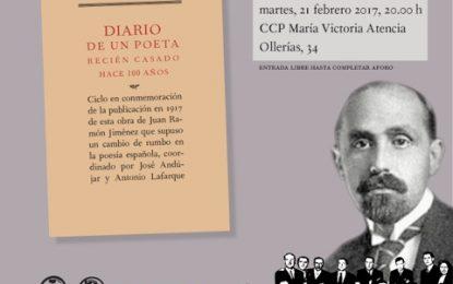 Jaime Siles, protagonista de la cuarta cita homenaje a Juan Ramón Jiménez que organiza el 27 de la Diputación de Málaga