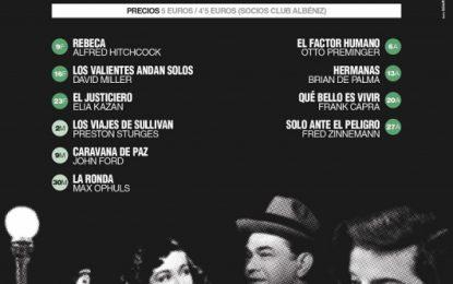 La Filmoteca Albéniz inicia su nueva programación con Alfred Hitchcock