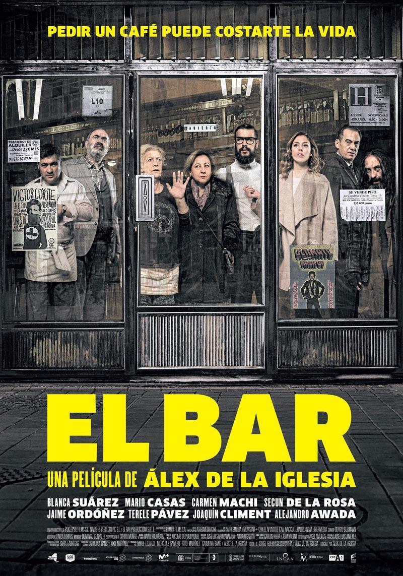 El bar de Álex de la Iglesia inaugurará el 20 Festival de Málaga. Cine en Español