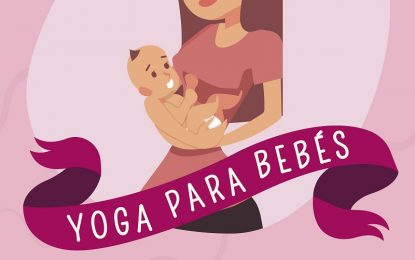 El Ayuntamiento de Torremolinos organiza un taller de yoga para bebés en el Centro Cultural Pablo Ruiz Picasso