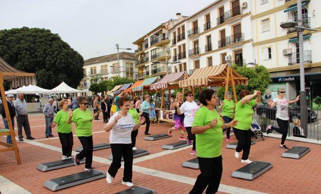 La localidad malagueña de Álora celebra la VII Plaza de la Salud