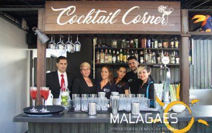 """Especial Fotográfico el hotel Molina Larios inaugurá su """"Cocktail Corner"""" en la terraza de la sexta planta con vistas a la Catedral"""