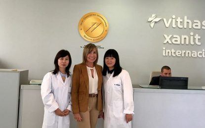 El Hospital Vithas Xanit Internacional incorpora a su cartera de servicios la Medicina Tradicional China