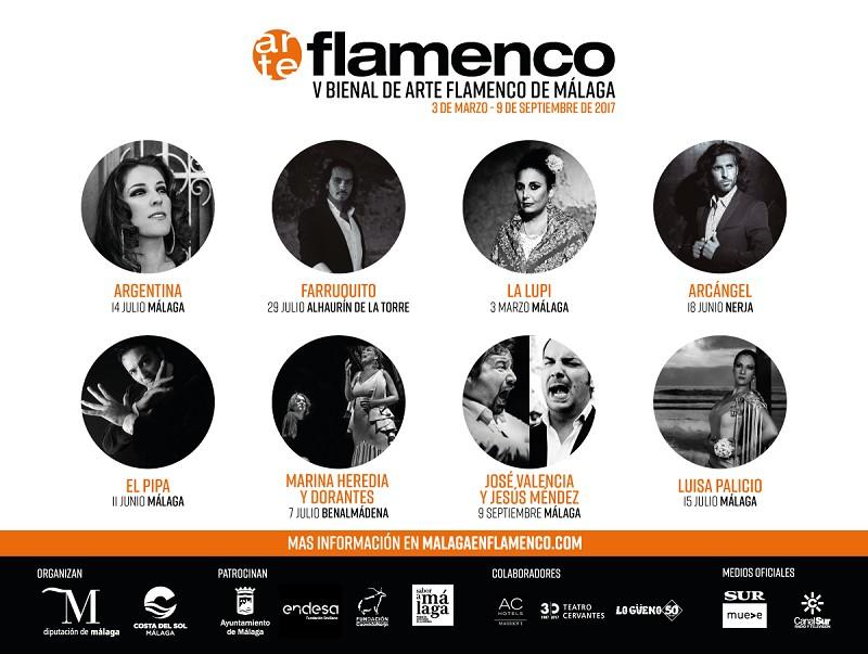 La V Bienal de Arte Flamenco lleva el viernes y el sábado el compás al campus de Teatinos de Málaga