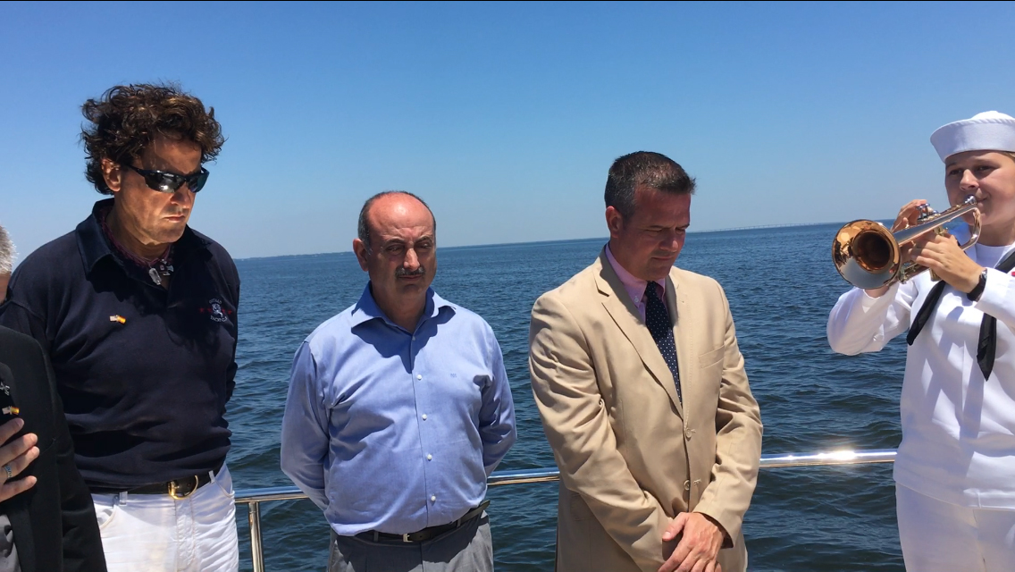 Málaga y Pensacola rinden homenaje a Bernardo de Gálvez en la bahía de la famosa batalla